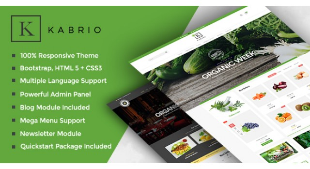 Top 5 OpenCart Grocery Store Themes & Templates