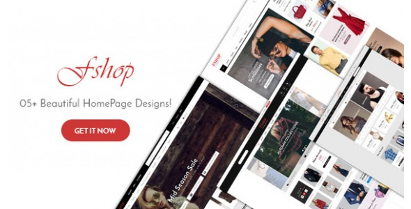 5+ Highly Creative Fashion Website Themes & Templates